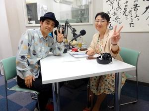 ウメツタカオさん(左)と笹崎久美子