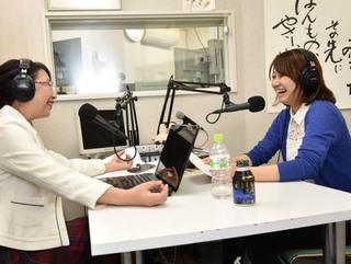 遠藤香奈さん(右)と笹崎