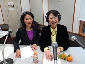 大葉由佳さん(左)と笹崎