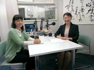 岡田麗子さん(左)と笹崎久美子