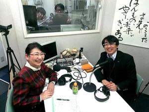 早川英雄さん(左)と笹崎久美子