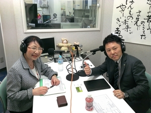 鈴木清一さん(右)と笹崎久美子