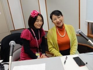 大葉由佳さん(左)と笹崎久美子
